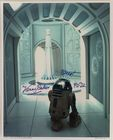 Kenny Baker As R2-D2 Signed Star Wars 10x8 Photo Autograph Empire Strikes Back